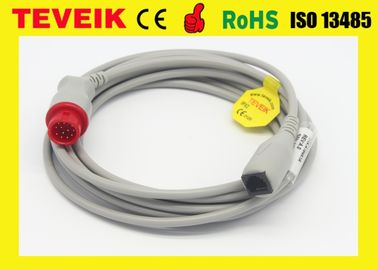 China BLUTDRUCK-Kabel HPs 78205A Invasions, rundes 12pin zu Abbott-Adapter usine